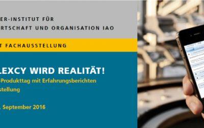 Industrie 4.0 Produkttag | 23. September 2016 | Stuttgart