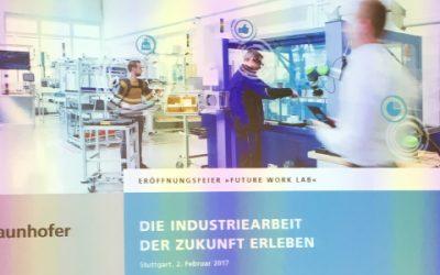 Einweihung Future Work Lab mit Bundesministerin Prof. Wanka | 02. Februar 2017 | Stuttgart