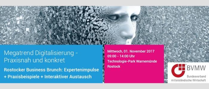 3. Rostocker Business Brunch | 01. November 2017 | Warnemünde