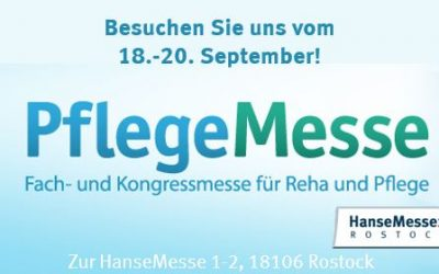 PFLEGEMESSE ROSTOCK – 18. – 20. September 2018