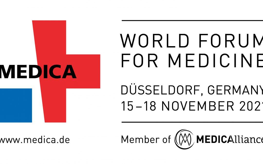 Medizinmesse: MEDICA | 15. – 18. November 2021 | Düsseldorf